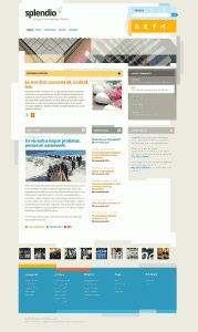 splendio wordpress шаблон