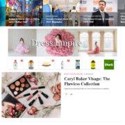 Англоязычный новостной сайт о моде beyondfashionmagazine.com